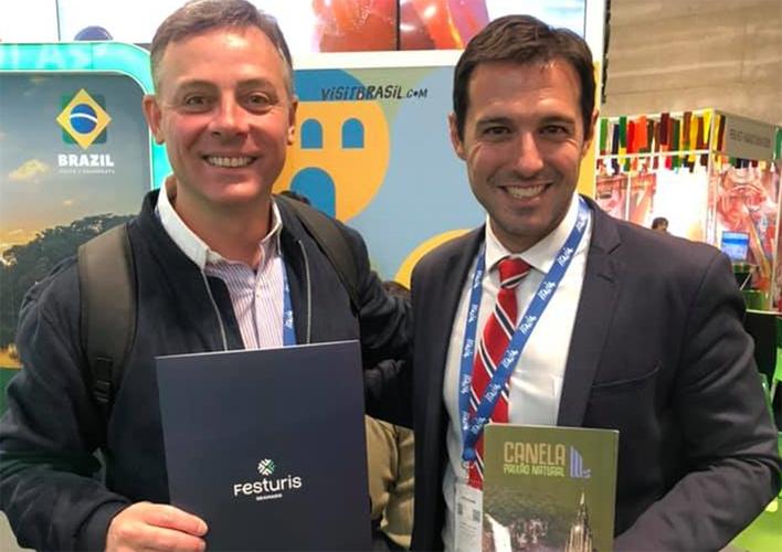 FESTURIS promove marca em feiras internacionais e contribui para a divulgação da Serra Gaúcha