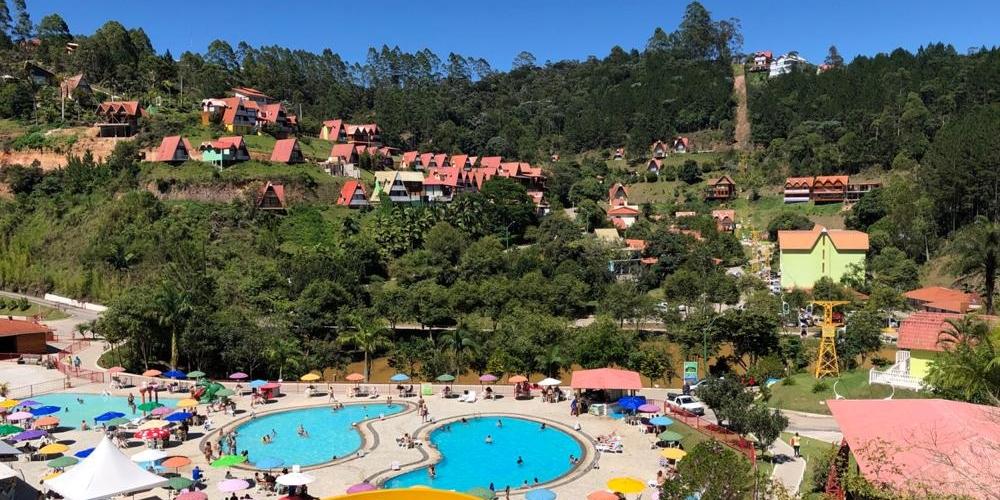 O Hotel Fazenda China Park, conhecido como um lugar de rara beleza