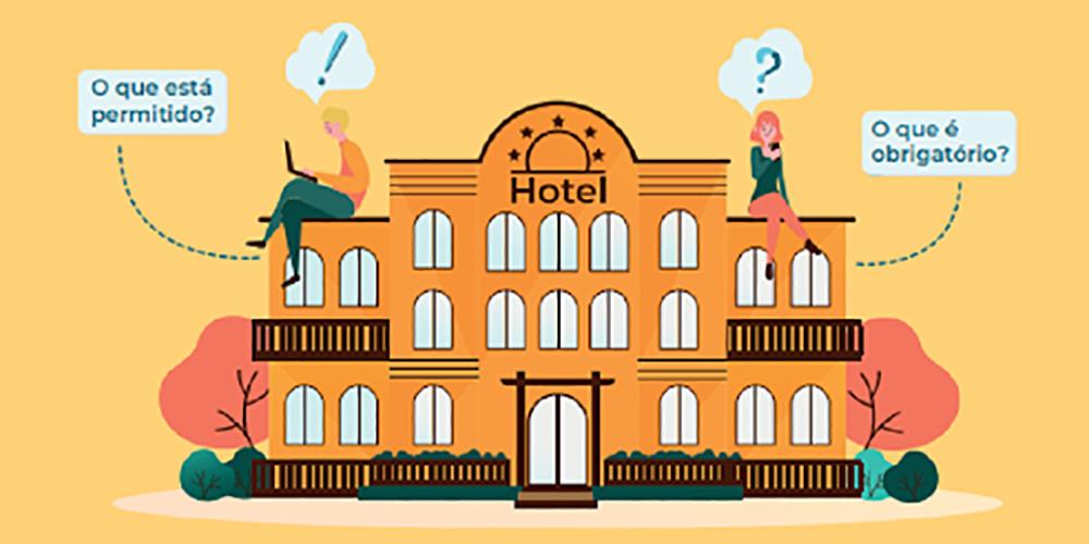 Santur preparou um guia de boas práticas e de higiene para a realização dos trabalhos nos meios de hospedagem