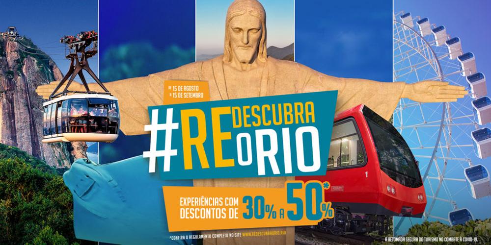 Prefeitura do Rio anuncia adesão de mais um atrativo turístico ao movimento Redescubra o Rio