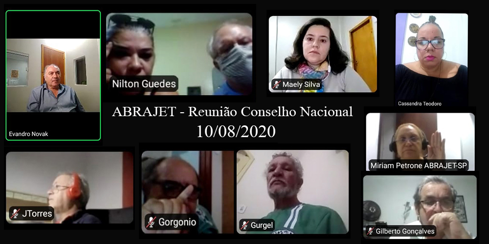 Conselho Nacional da Abrajet transfere o XXXVII Congresso para 2021