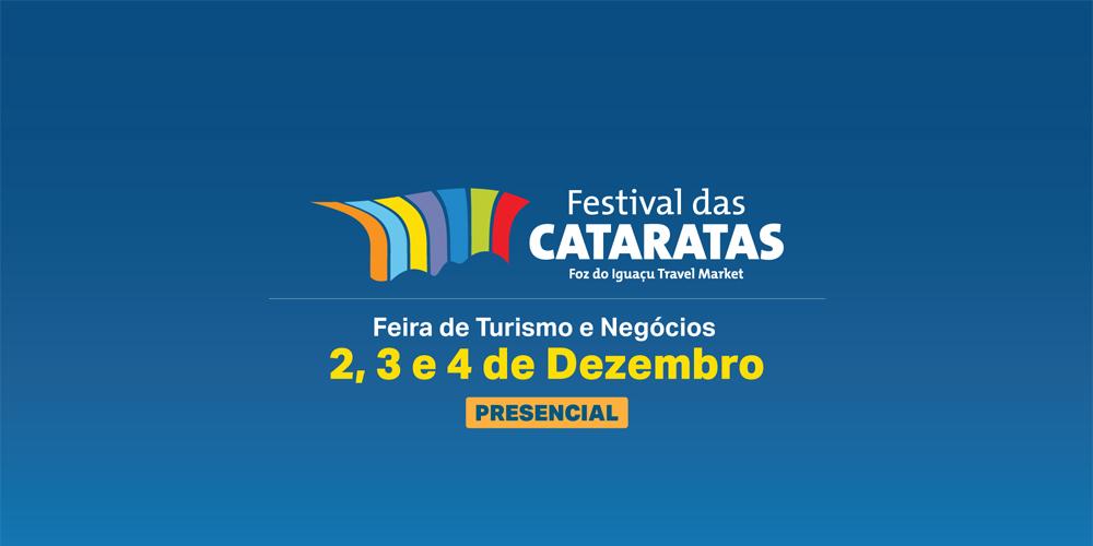 Festival das Cataratas terá feira presencial em dezembro