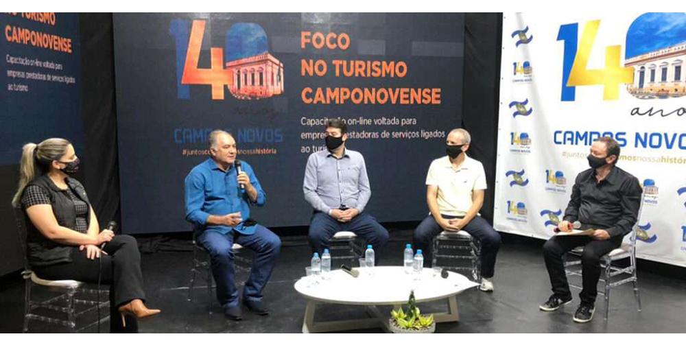 Campos Novos com Foco no Turismo