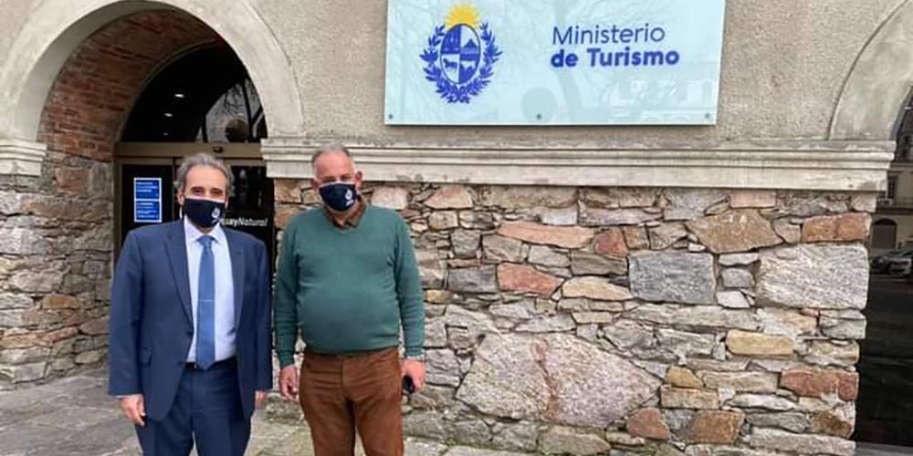 Roque Baudean es el director nacional de Turismo de Uruguay